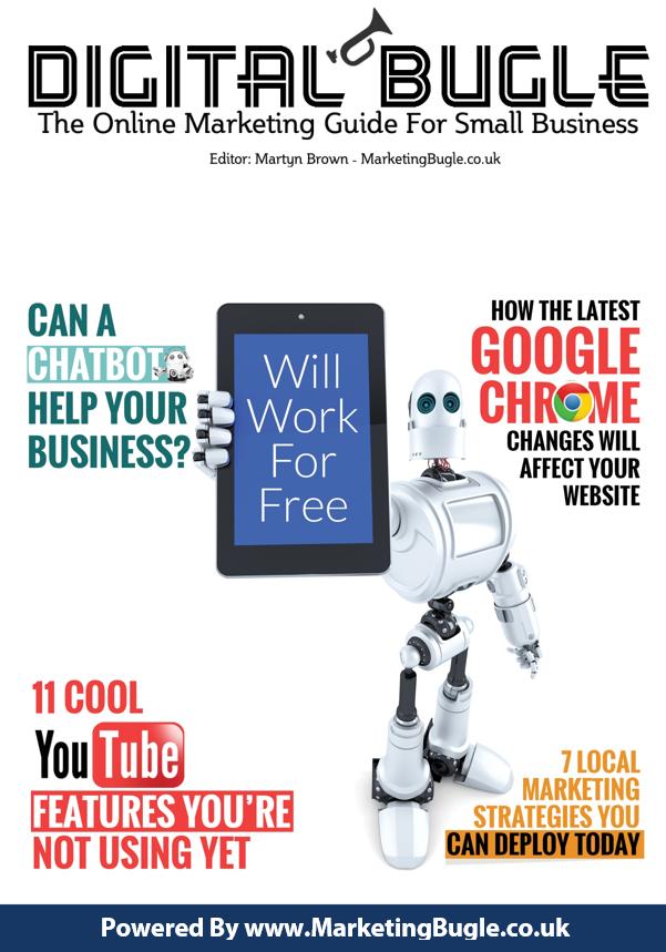 Digital Bugle 25 from Marketing Bugle
